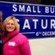 Faye Dicker at Small Business Saturday